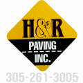 H and R Paving Inc Logo